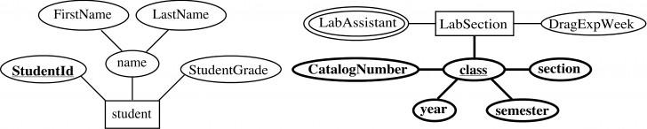 Permalink to Entity-Relationship Model in Er Diagram Dotted Underline