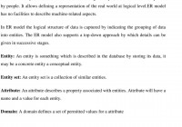 Entity-Relationship Model – Pdf pertaining to Introduction To Er Model