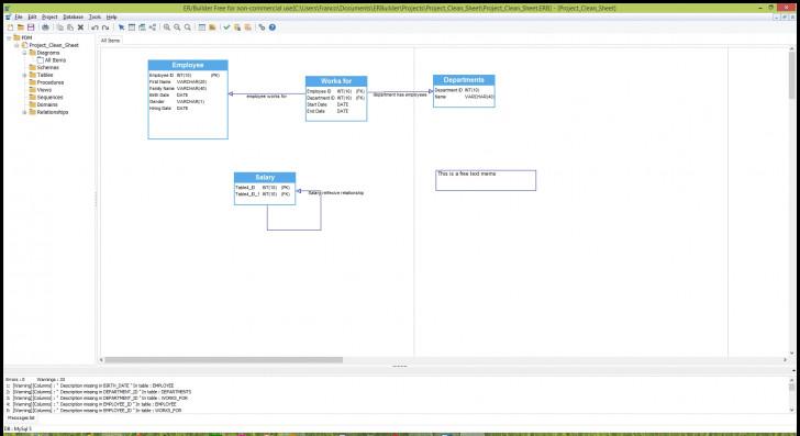 Permalink to Er/builder – Free Database Modeling & Schema Generation within Er Diagram Free