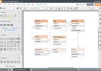 Er Диаграмма Онлайн   Lucidchart throughout Er Diagram Visio Example