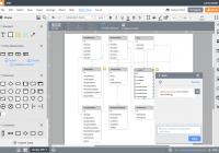 Er Диаграмма Онлайн | Lucidchart with regard to Online Erd Tool
