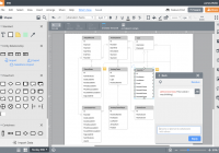 Er Diagram (Erd) Tool   Lucidchart within Free Erd Drawing Tool