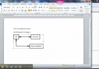 Er Diagram In Dia 3 Of 3: Using The Diagram In Word pertaining to Er Diagram Word