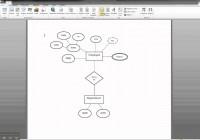 Er Diagram In Ms Word Part 8 – Illustrating Cardinality for Er Diagram In Word