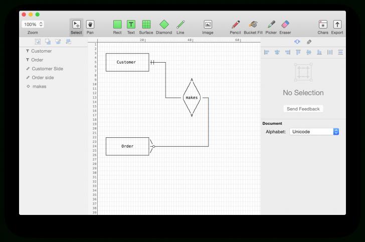Permalink to Er Diagram Maker Free – Schematics Online throughout Er Diagram Free