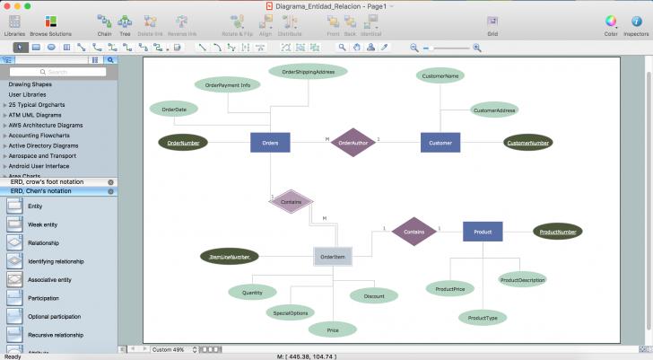 Permalink to Er Diagram Tool For Os X   Best Vector Drawing Application regarding Online Erd Modeling Tool