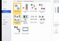 Er Diagram Using Ms Visio 10 Part_1 with regard to Er Diagram Visio 2016