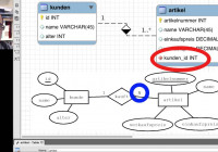 Er-Diagramme Mit Mysql-Workbench Erstellen (Deutsch) intended for Er Diagram Zeichnen