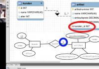 Er-Diagramme Mit Mysql-Workbench Erstellen (Deutsch) within Er Diagramm N Zu M
