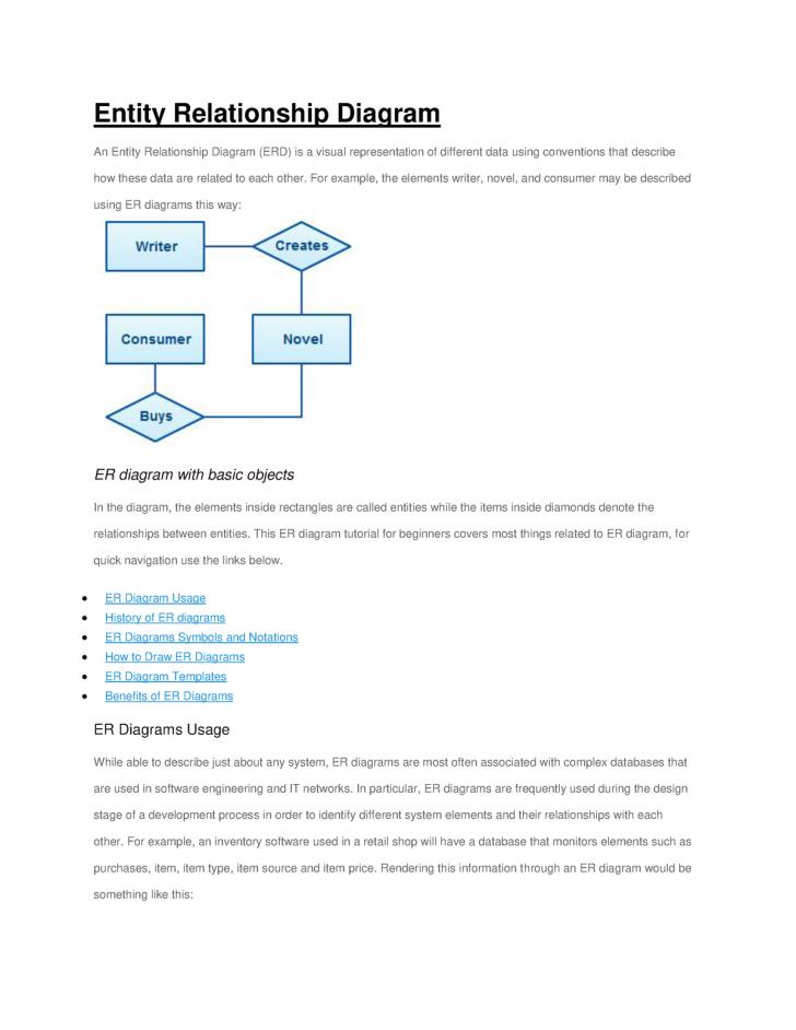 Permalink to Er-Diagrams Help – – Dut – Studocu with Er Diagram Benefits
