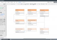 Er-Modell Tool  Lucidchart for Datenbank Diagramm