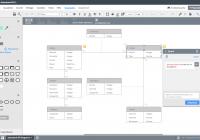 Er-Modell Tool  Lucidchart inside Er Diagramm Zeichnen Online