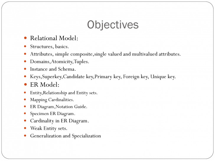 Permalink to Er Relational Model – Powerpoint Slides throughout Er Diagram Unique Attribute