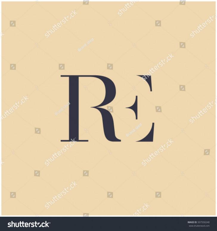 Permalink to Er Symbol Er Letter E Letter Stock Vector (Royalty Free with regard to Er Symbol