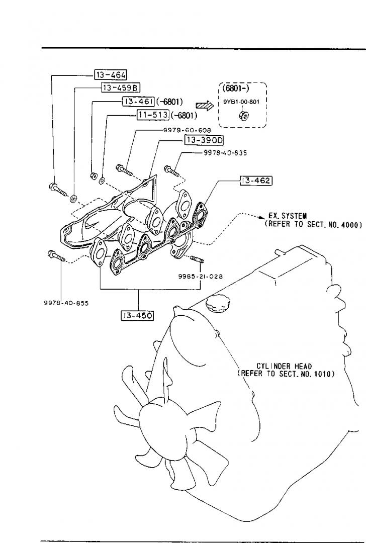 Permalink to Europe, E2200 Sr 02/1988-, Diesel-Engine Supplement, 1310B with regard to Er Diagram 101