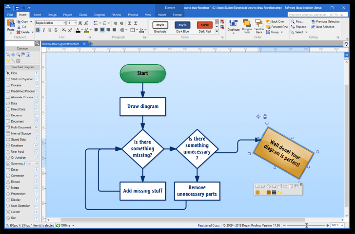 Permalink to Free Diagram Software – Software Ideas Modeler inside Draw Diagram Free