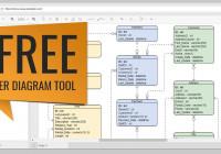 Free Erd Tool regarding Er Diagram Tool Visio