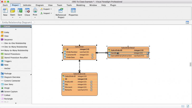 Permalink to From Erd To Class Diagram – Multiple Tables Map To One Class inside Er Diagram Uml Tutorial