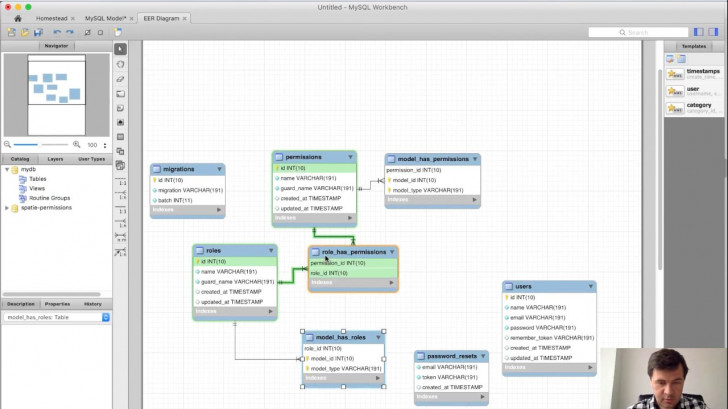 Permalink to Generating Db Schema In 10 Seconds With Mysql Workbench with regard to Relational Diagram Access