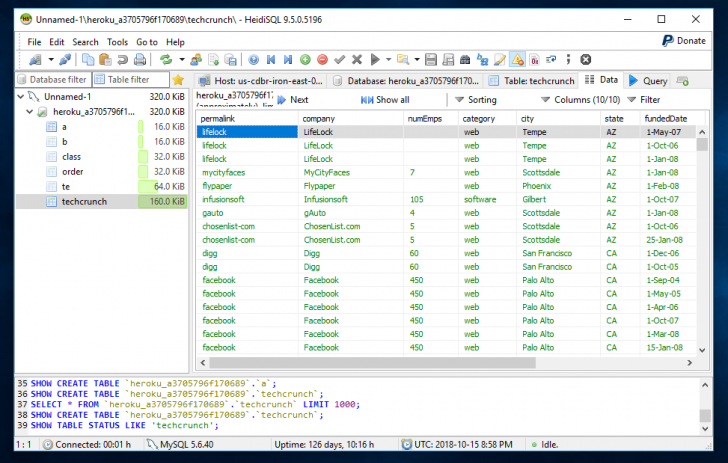 Permalink to Heidisql Vs Mysql Workbench Vs Tableplus – A Quick Review pertaining to Er Diagram Heidisql