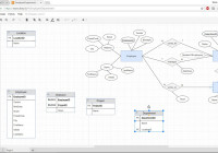 How To Convert An Er Diagram To The Relational Data Model inside Er Diagram To Relational Schema Software