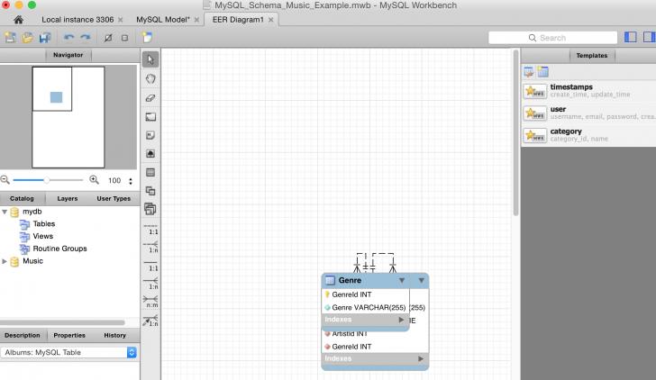 Permalink to How To Create A New Database Diagram Using Mysql Workbench throughout Er Diagram Nasıl Yapılır