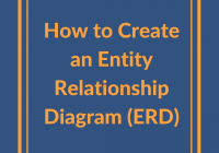 How To Create An Entity Relationship Diagram (Erd)