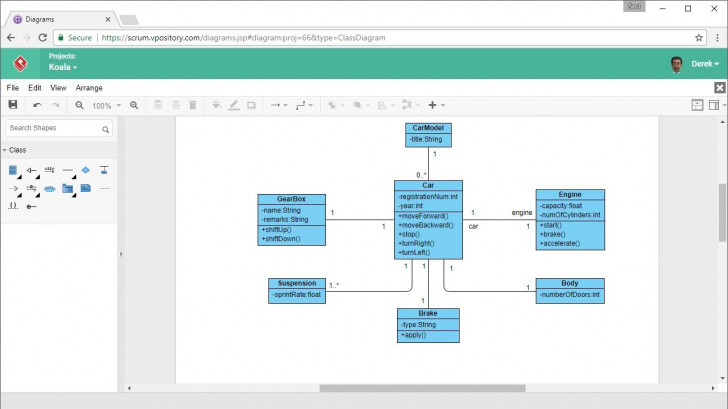 Permalink to How To Draw Class Diagram Online within How To Draw Er Diagram In Word