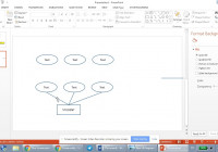 How To Draw Er Diagrams Using Microsoft Powerpoint – Part 1 within Er Diagram Microsoft Word