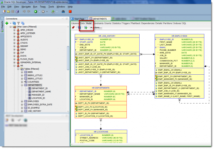 Permalink to Generate Er Diagram In Sql Developer