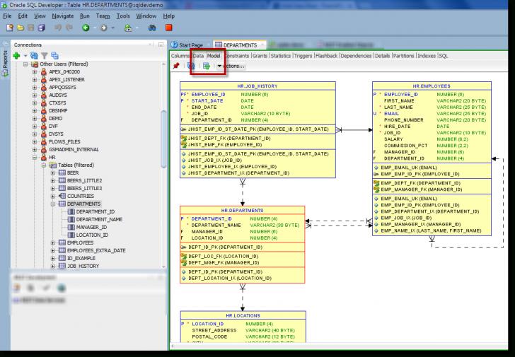 Permalink to How To: Generate An Erd For Selected Tables In Sql Developer in Er Diagram In Sql Developer 1.5.5