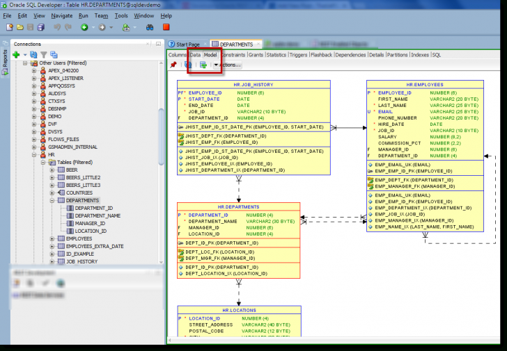 Permalink to How To: Generate An Erd For Selected Tables In Sql Developer with regard to Er Diagram From Sql Developer