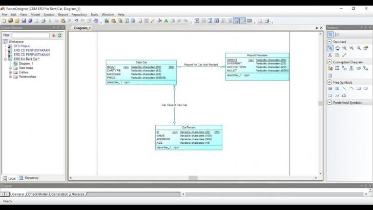 Permalink to How To Make Erd In Power Designer regarding Er Diagram Designer