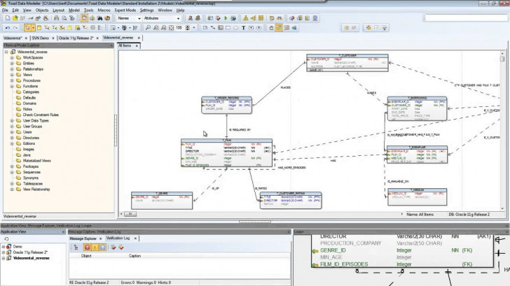 Permalink to How To Reverse Engineer And Manage Models In Toad Data Modeler throughout Er Diagram In Toad
