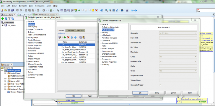 Permalink to How To Set Auto Increment Column With Sql Developer – Stack within Er Diagram In Sql Developer 1.5.5