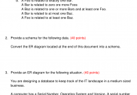 Instructions for Er Diagram At Most One