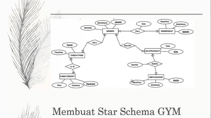Permalink to Kcb E 5212100040 Star Schema Gym Fitness – Youtube throughout Er Diagram Gym Management System