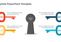 Keyhole Graphics For Powerpoint for Key Diagram