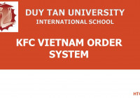 Kfc Vietnam Order System with regard to Er Diagram Kfc