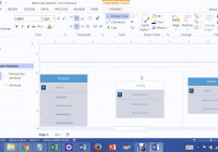 Lab 2 Many To Many Relationship In Visio 2013 Joining Orders And Products  Tables