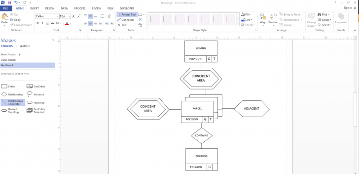 Permalink to Matt Mccormick: Geodatabases, Er Diagrams, And Visio intended for Er Diagram In Visio
