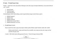 Model – Model Basis Data for Simbol Er Diagram Yang Berbentuk Elips
