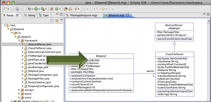 Permalink to Modelgoon Uml4Java » Class Diagram Tutorial regarding Er Diagram Java