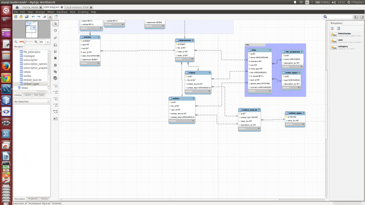 Permalink to Mysql Workbench Eer Diagram Line Style Field-To-Field throughout Er Diagram Mysql