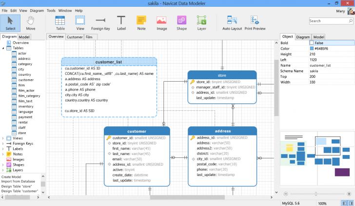 Permalink to Navicat Data Modeler Essentials (Mac Os X) – Database Design with regard to Er Diagram Mac Os X