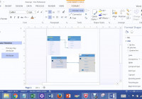 One To Many Relationships In Visio 2013 Lab 1A Bis 245 regarding Erd One To One