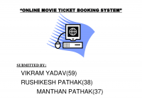 Online Movie Ticket System – Docsity