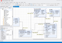 Oracle Designer – Entity Relationship Diagram Tool For Oracle intended for Entity Relationship Diagram Editor