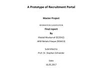 Pdf) A Prototype Of Recruitment Portal regarding Er Diagram For Job Portal Project