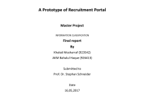 Pdf) A Prototype Of Recruitment Portal within Er Diagram Job Portal